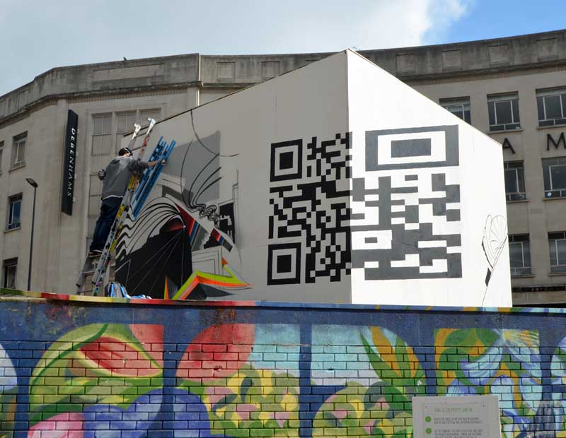 The PRSC Cube Outdoor Gallery - Bearpit